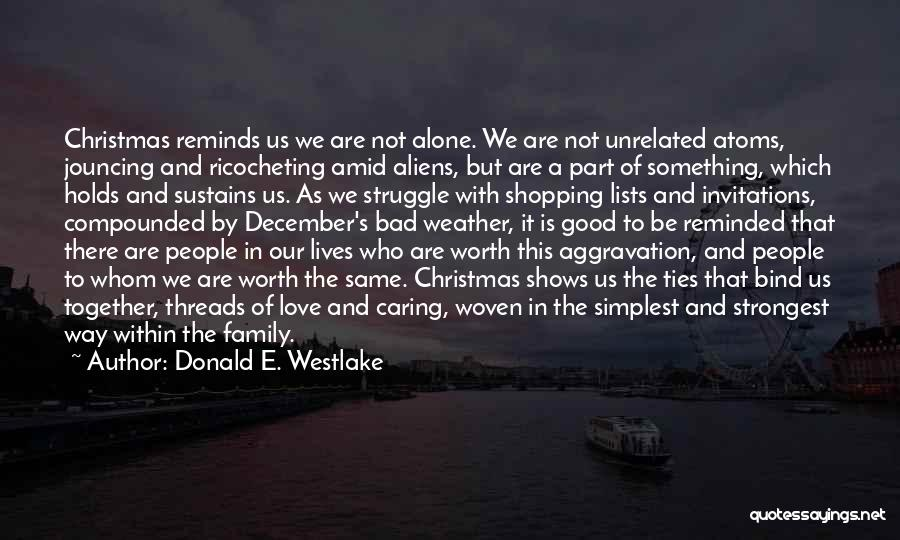 Lists Of Love Quotes By Donald E. Westlake