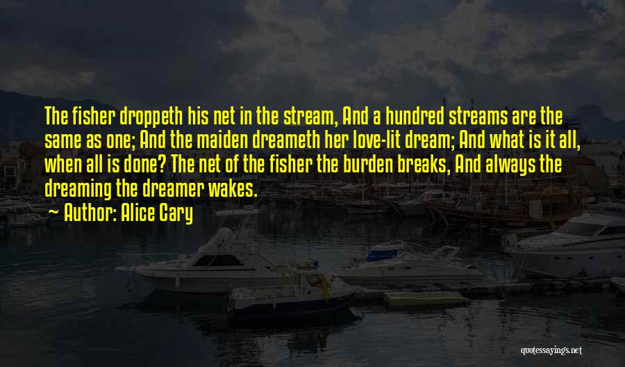 Lit Quotes By Alice Cary