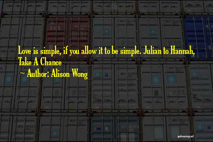 Lit Quotes By Alison Wong