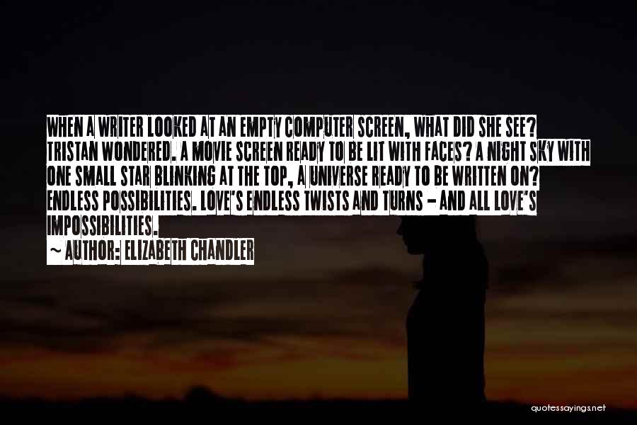 Lit Quotes By Elizabeth Chandler