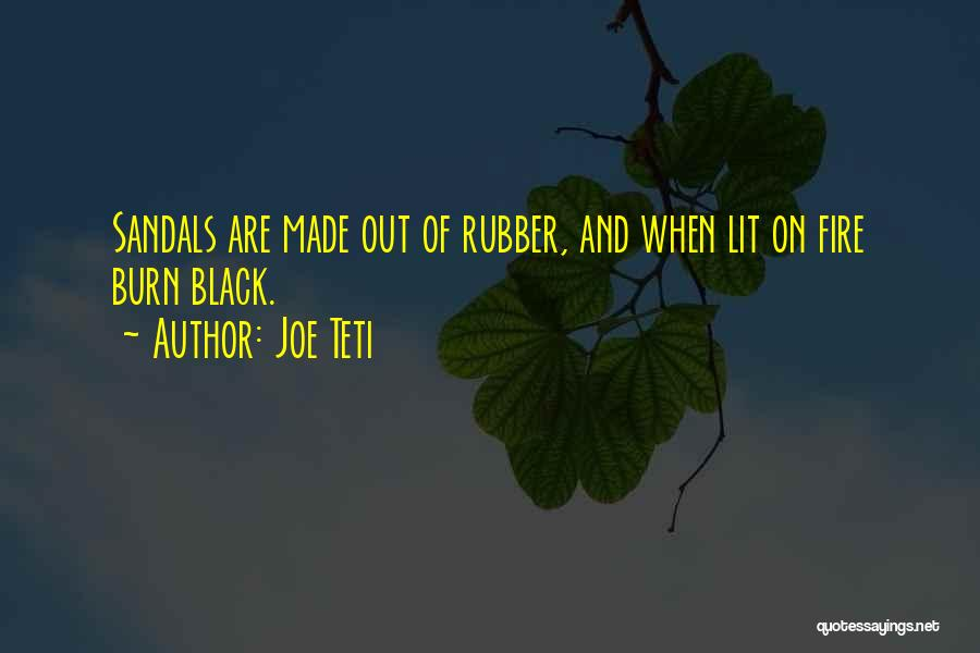 Lit Quotes By Joe Teti