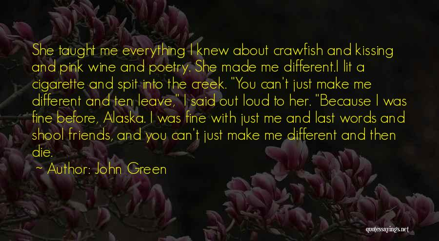 Lit Quotes By John Green
