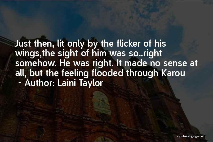 Lit Quotes By Laini Taylor