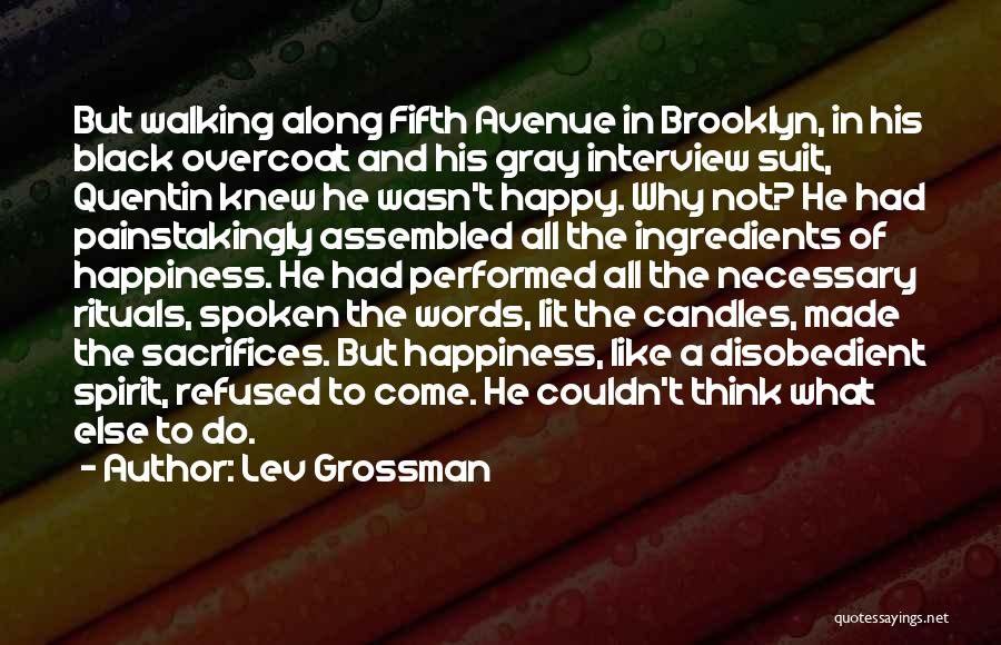 Lit Quotes By Lev Grossman