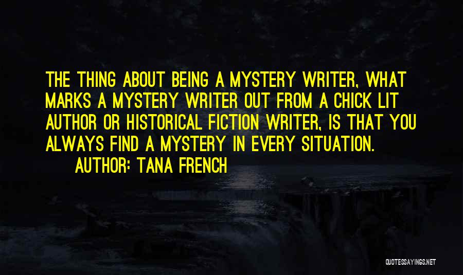 Lit Quotes By Tana French