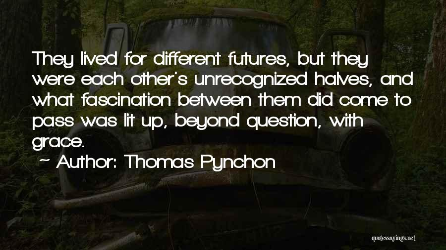 Lit Quotes By Thomas Pynchon