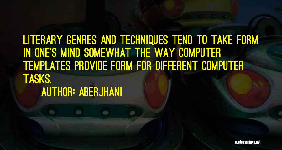 Literary Techniques Quotes By Aberjhani
