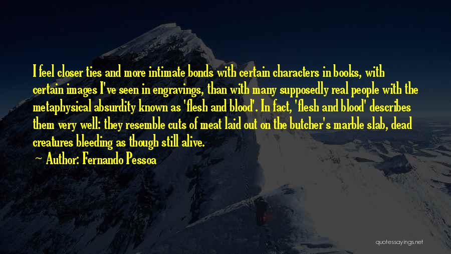 Literature And Characters Quotes By Fernando Pessoa
