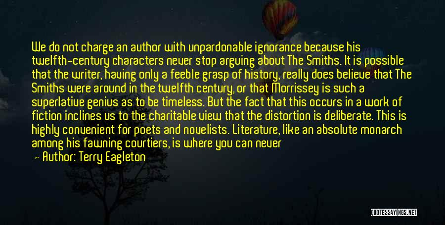 Literature And Characters Quotes By Terry Eagleton