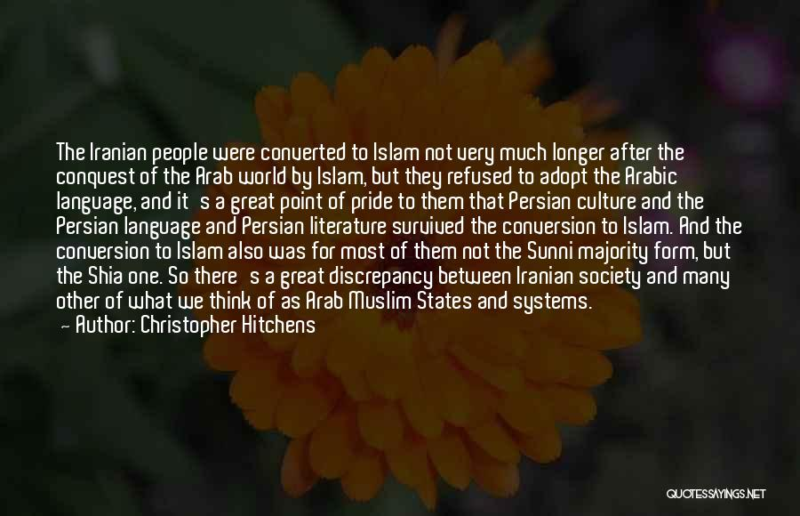 Literature And Culture Quotes By Christopher Hitchens