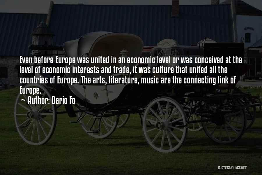 Literature And Culture Quotes By Dario Fo