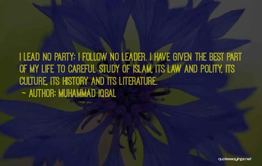 Literature And Culture Quotes By Muhammad Iqbal