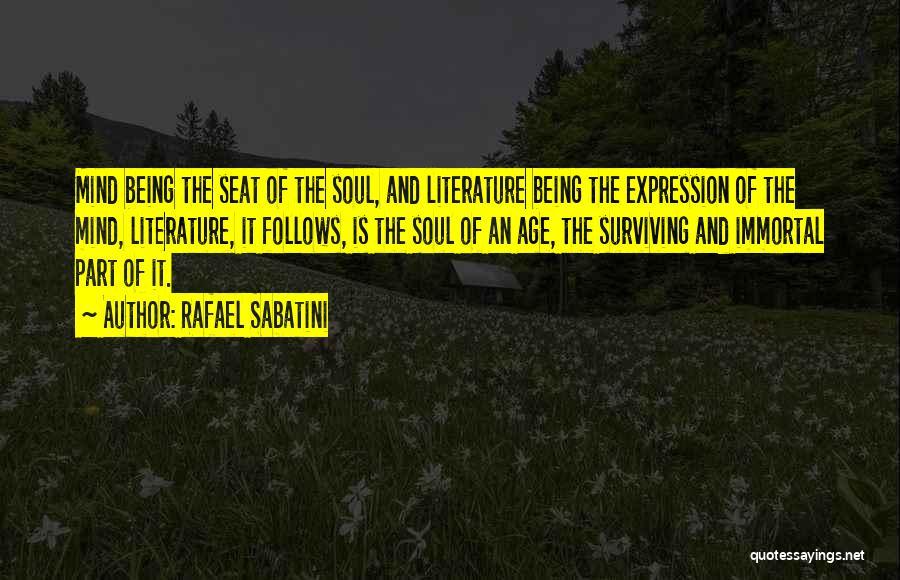 Literature And Culture Quotes By Rafael Sabatini