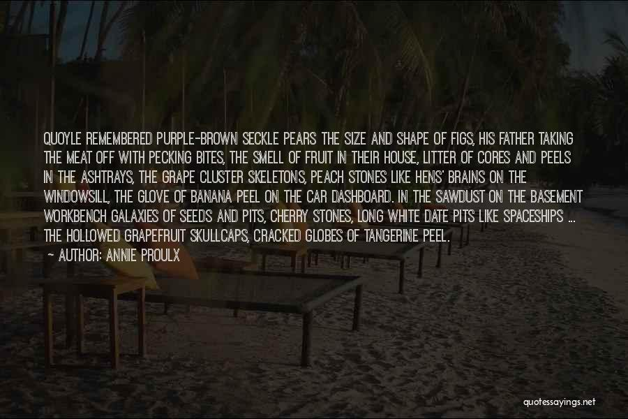 Litter Quotes By Annie Proulx