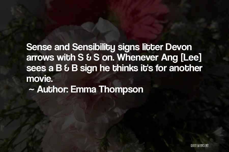 Litter Quotes By Emma Thompson
