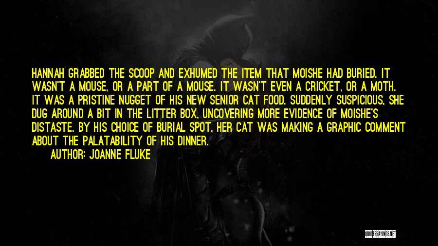Litter Quotes By Joanne Fluke