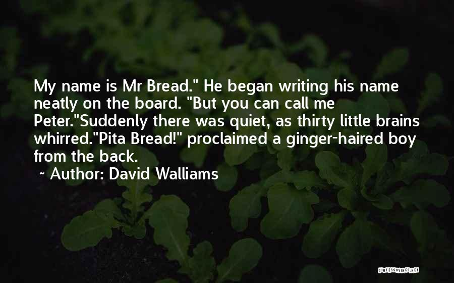 Little Brains Quotes By David Walliams