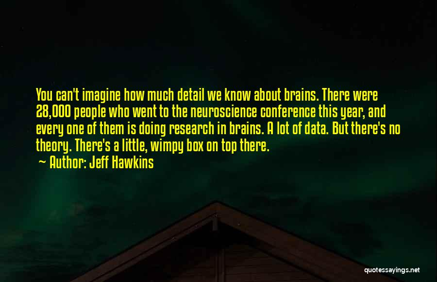 Little Brains Quotes By Jeff Hawkins
