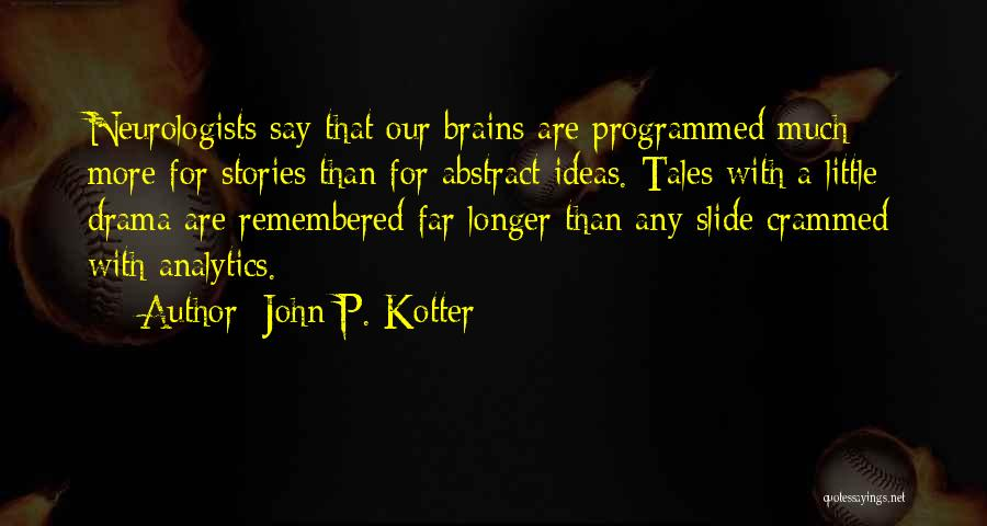 Little Brains Quotes By John P. Kotter