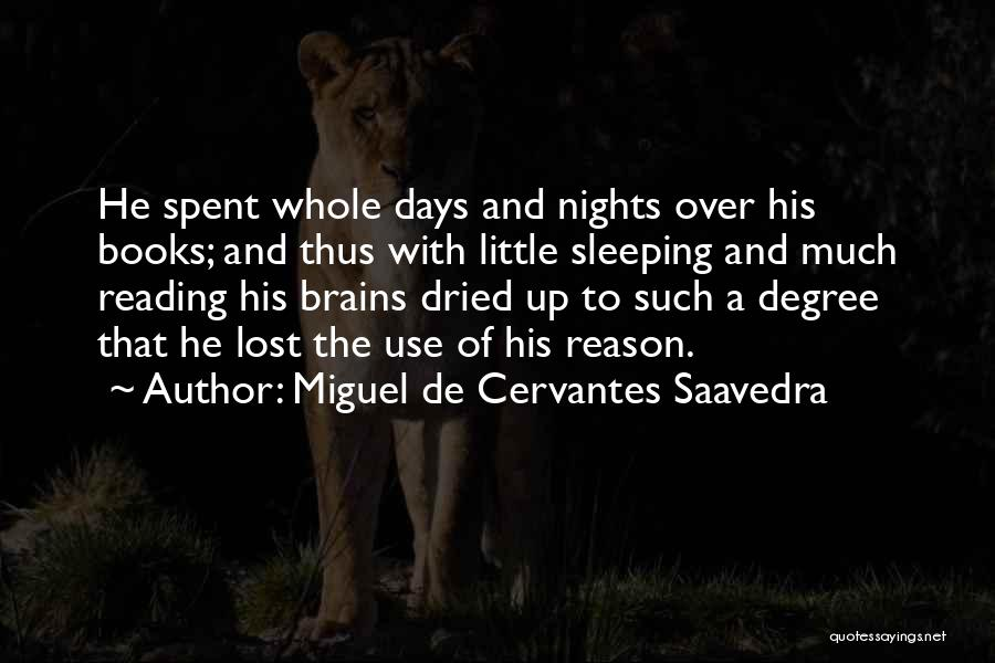 Little Brains Quotes By Miguel De Cervantes Saavedra