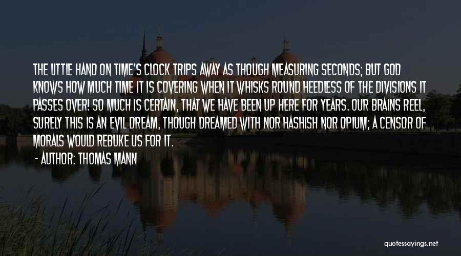 Little Brains Quotes By Thomas Mann