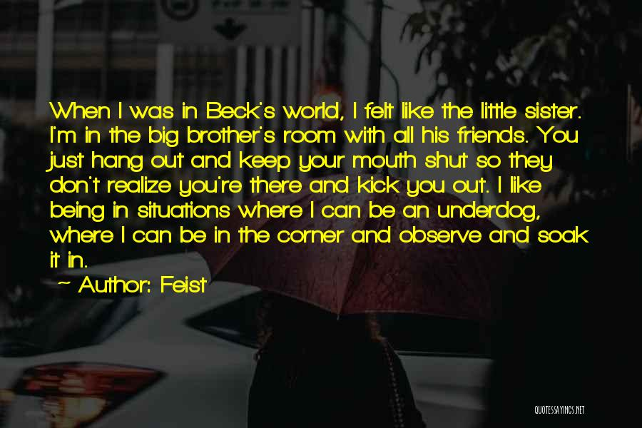 Top 37 Little Brother And Big Brother Quotes & Sayings