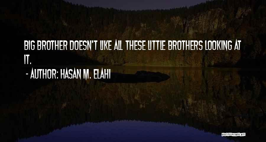 Little Brothers Quotes By Hasan M. Elahi