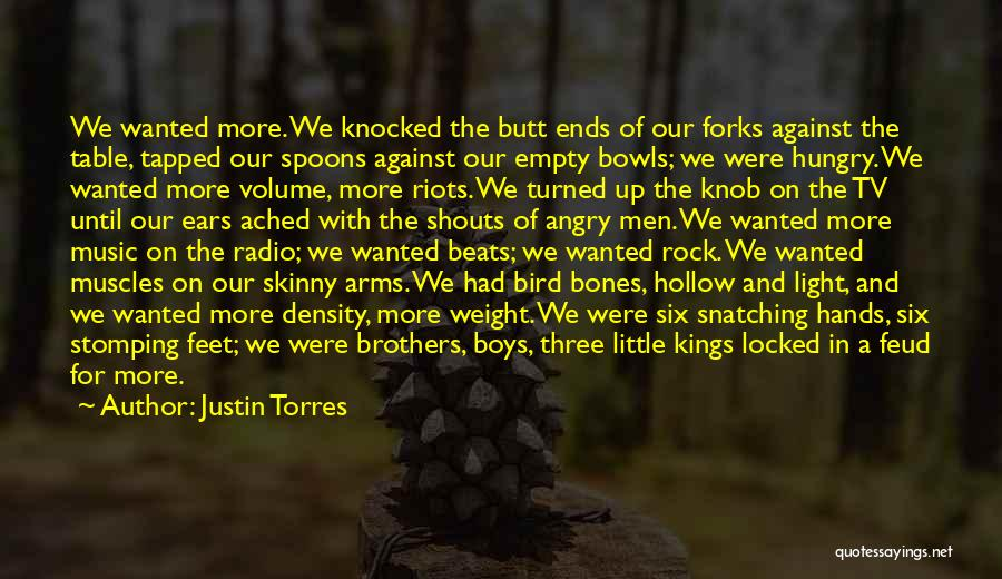 Little Brothers Quotes By Justin Torres