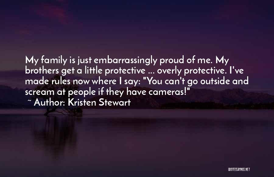 Little Brothers Quotes By Kristen Stewart