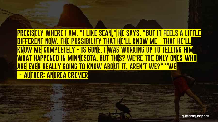 Little Minnesota Quotes By Andrea Cremer
