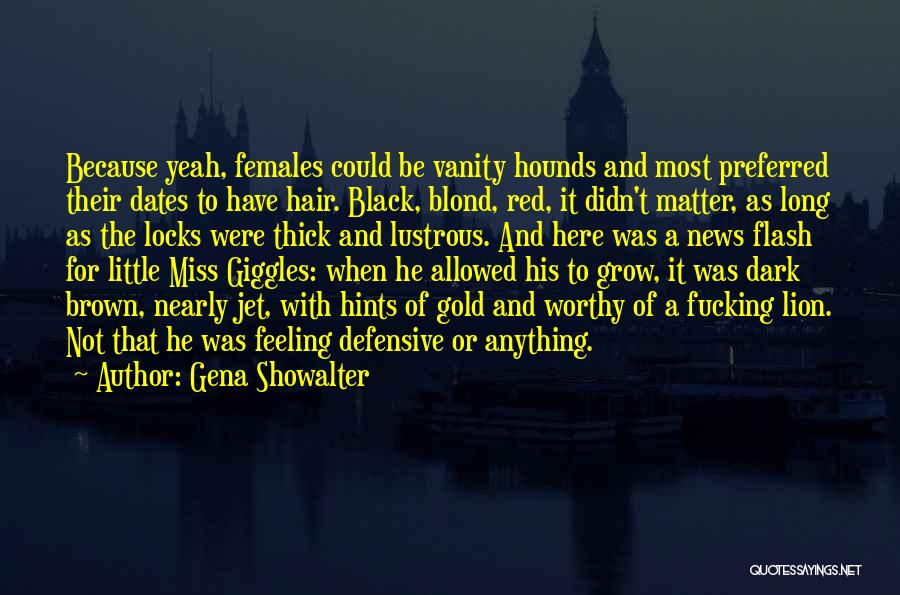 Little Miss Giggles Quotes By Gena Showalter