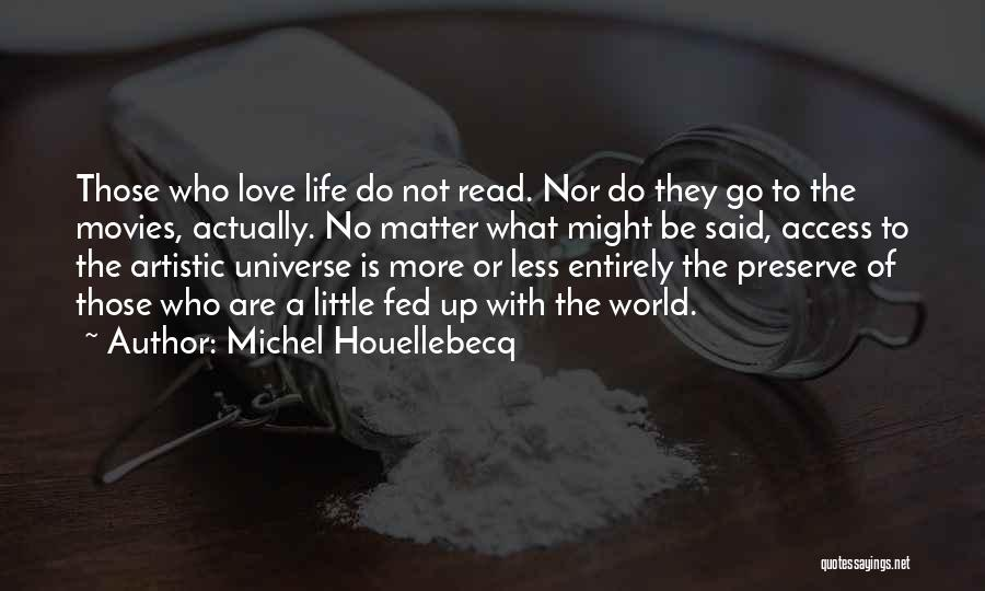Little Things Matter Most Quotes By Michel Houellebecq