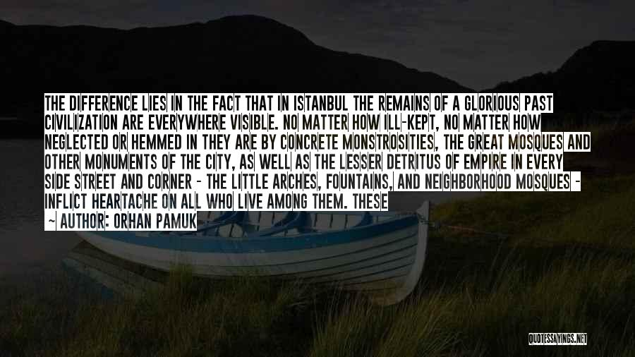 Little Things Matter Most Quotes By Orhan Pamuk