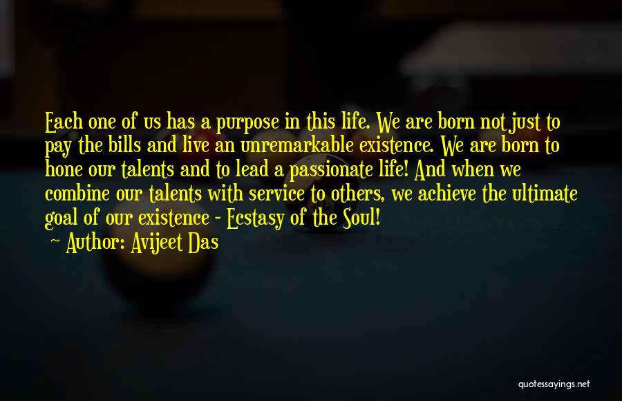 Live A Life Of Service Quotes By Avijeet Das