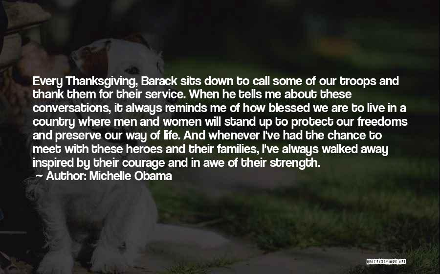 Live A Life Of Service Quotes By Michelle Obama