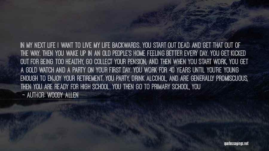 Live A Life Of Service Quotes By Woody Allen