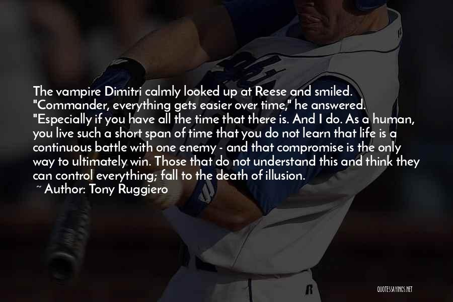Live And Learn Short Quotes By Tony Ruggiero