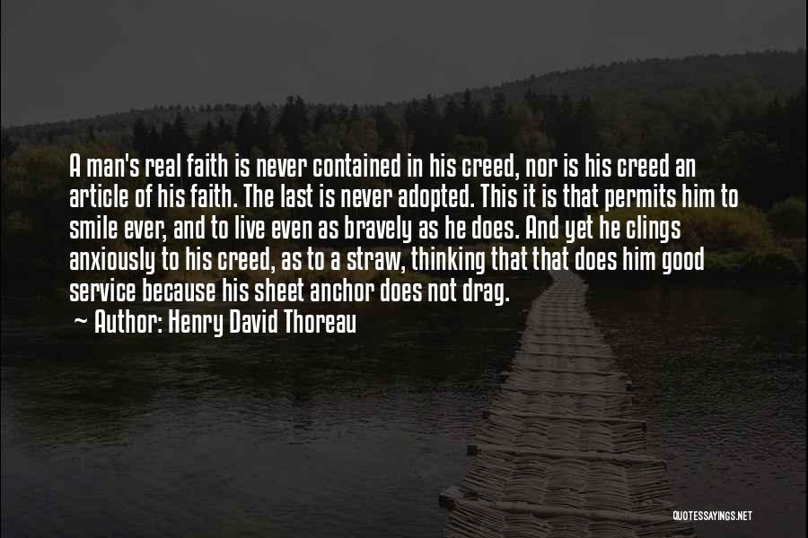 Live Bravely Quotes By Henry David Thoreau