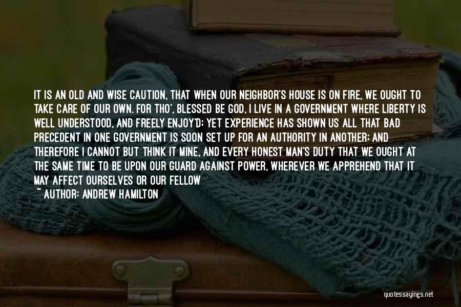 Live Freely Quotes By Andrew Hamilton