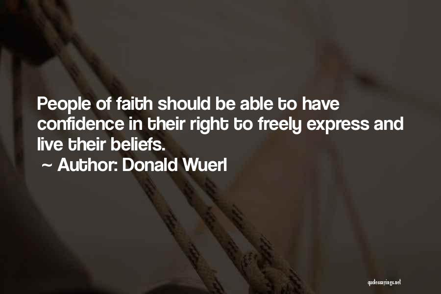 Live Freely Quotes By Donald Wuerl