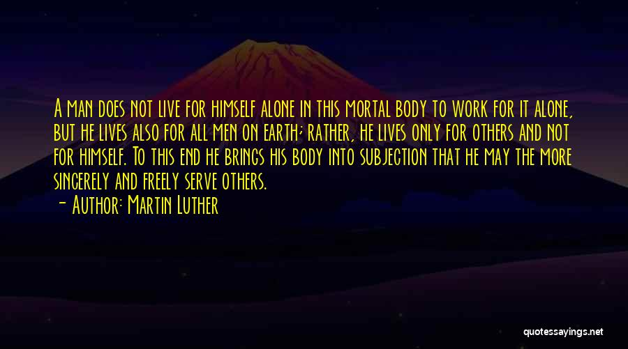 Live Freely Quotes By Martin Luther