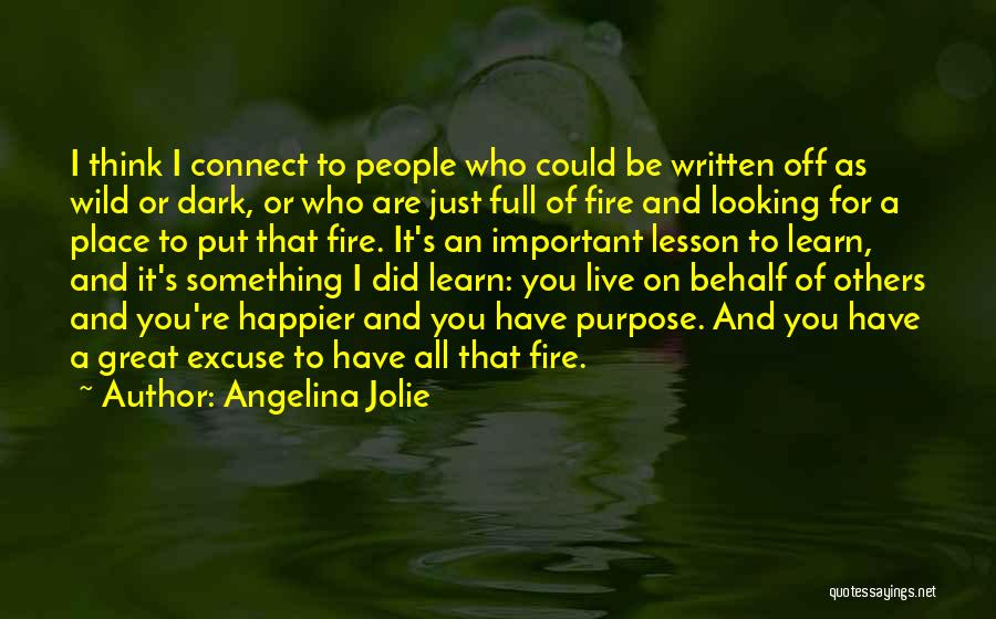 Live Happier Quotes By Angelina Jolie
