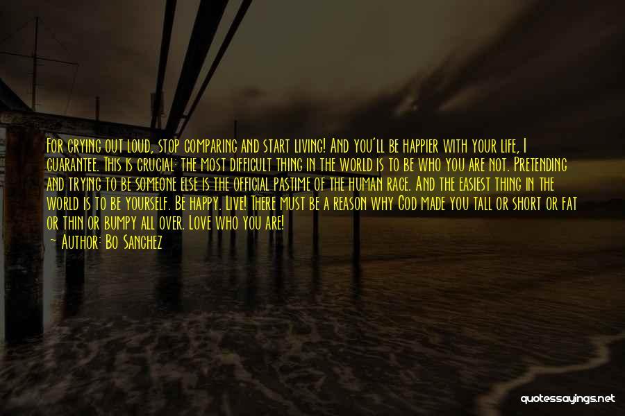 Live Happier Quotes By Bo Sanchez