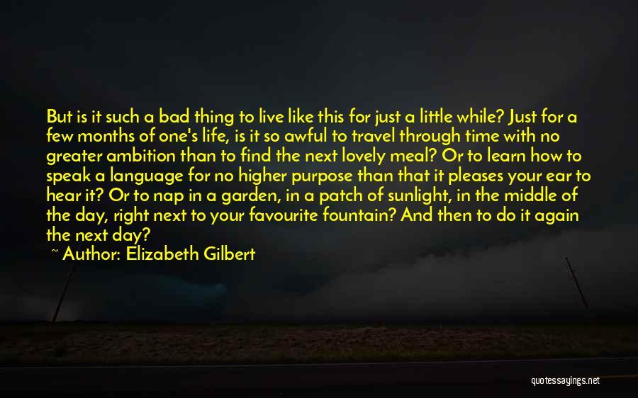 Live It Learn It Love It Quotes By Elizabeth Gilbert