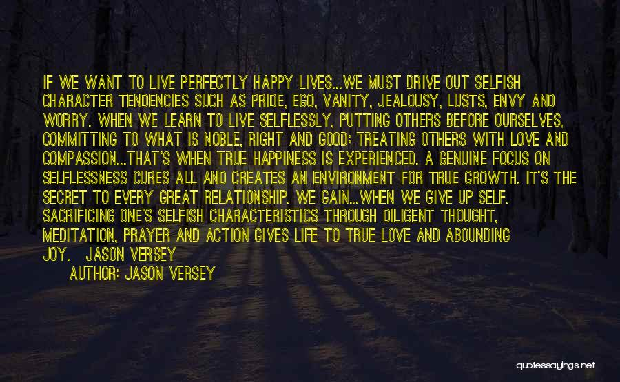 Live It Learn It Love It Quotes By Jason Versey