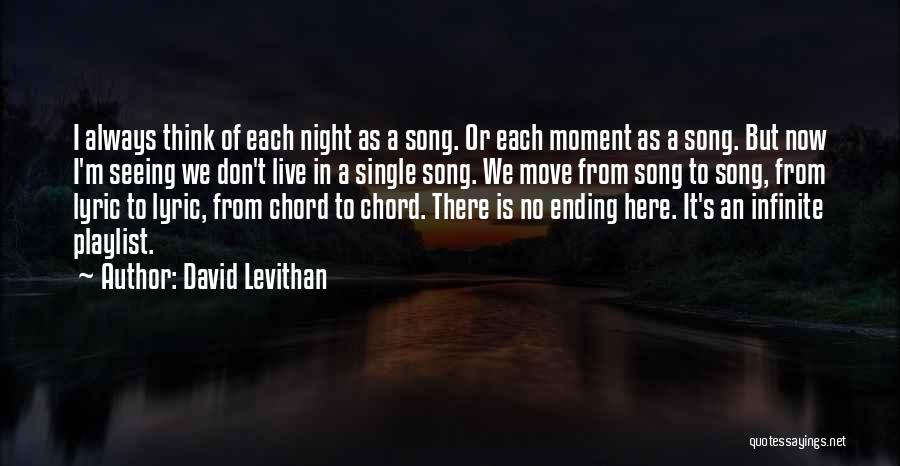 Live It Love It Quotes By David Levithan