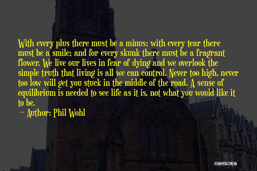 Live Life Like You're Dying Quotes By Phil Wohl