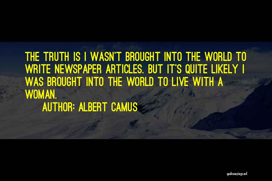 Live Life Love Quotes By Albert Camus