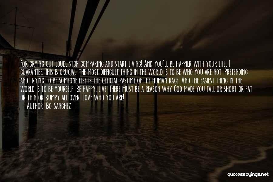 Live Life Love Quotes By Bo Sanchez