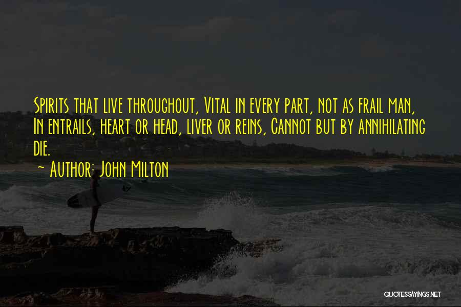 Live Or Die Quotes By John Milton